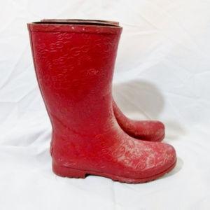 UGG 3385 Wilshire Wellies Rain Boot Rainboot